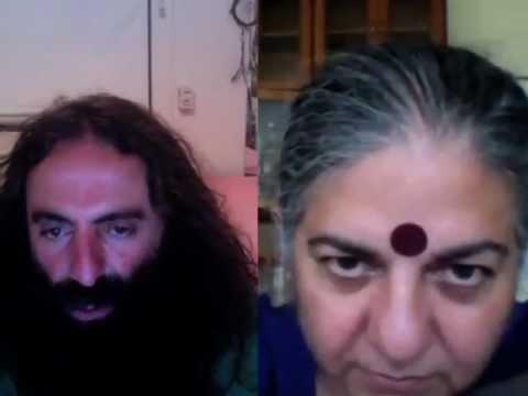 Dr Vandana Shiva and Costa Georgiadis - Seed Freedom Fortnight: 2-16 October 2012
