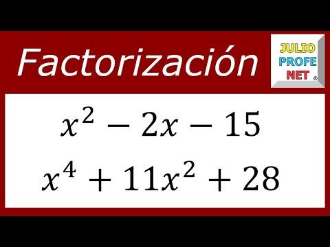 Factorización de Trinomios de la forma x^(2n) bx^n c