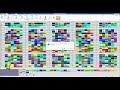 Фрагмент с начала видео aSc TimeTables программа для автоматического составления расписания уроков
