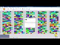 Фрагмент с середины видео aSc TimeTables программа для автоматического составления расписания уроков