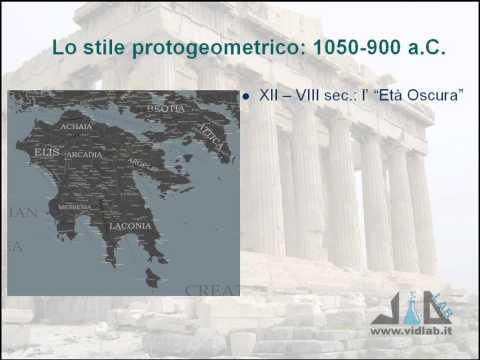 videocorso storia dell'arte greca - lez 3 - parte 1