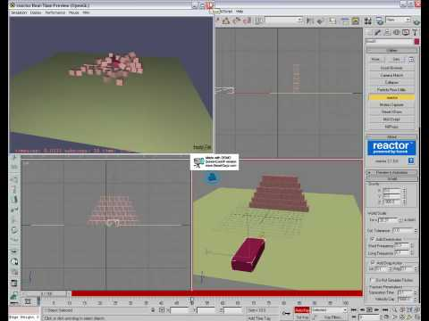 Reactor beginner tutorial (3ds max)