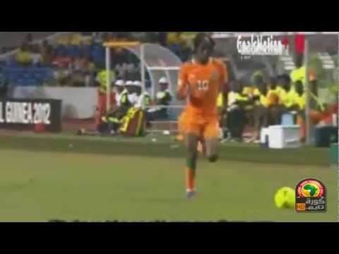 Ivory Coast vs Mali 1 - 0 All Goal Gervinho  05/02/2012 CAF Africa Cup 2012
