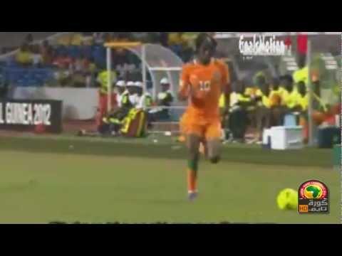 Ivory Coast vs Mali 1 - 0 All Goal Gervinho  05/02/2012 CAF Africa Cup 2012