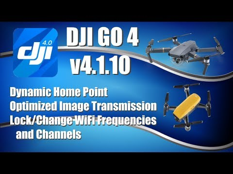 DJI Go 4.1.10 for Spark and Mavic Pro - UCMaYt8kdIR5U3ZwWiZJ6WnA