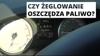 Coasting Mode w Audi S3 Limousine - czy oszczędza paliwo?