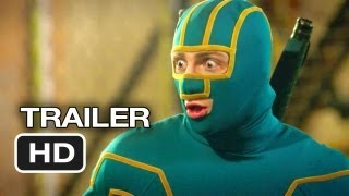 Kick-Ass 2 Official Theatrical Trailer (2013) - Chloe Moretz Movie HD