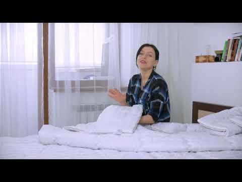 Одеяло шерстяное №0347 Royal Pearl ЗИМНЕЕ Hand Made Чехол Сатин Italy