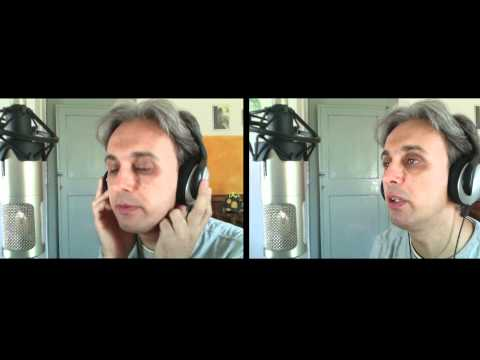 How to sing Two of Us Beatles vocal harmony breakdown