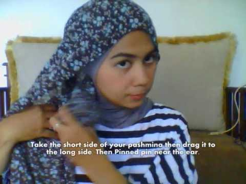 Hijab Tutorial Simply Pashmina Scarf