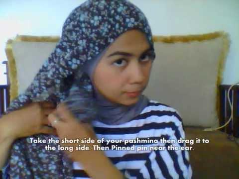 Hijab Tutorial Simply Pashmina Scarf