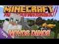 Minecraft  Parque dos Dinossauros - Temp 2 - Ep 4 - NOVOS DINOS