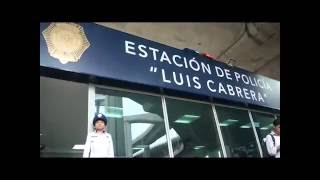 Estación de Policía Luis Cabrera.