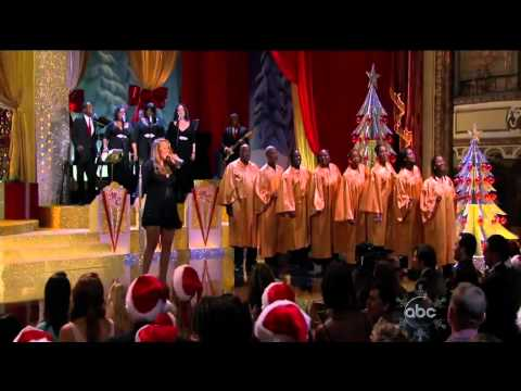 ᴴᴰ Mariah Carey - Joy To The World (Live ABC Christmas Special)