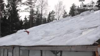 WOLF-Garten sniego valytuvas stogui