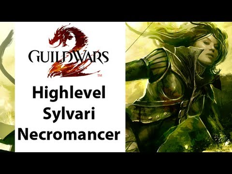Eurogamer Expo Coverage : Guild Wars 2 - High Level Sylvari Necromancer Gameplay Part 1