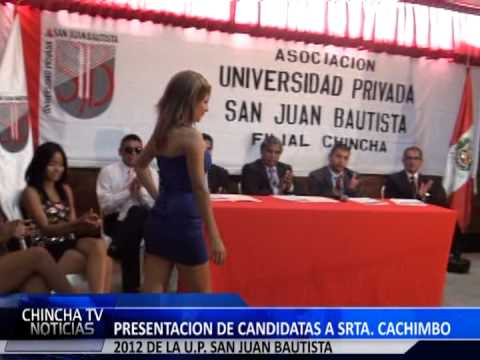 CONFERENCIA DE PRENSA U P S J B  FILIAL CHINCHA
