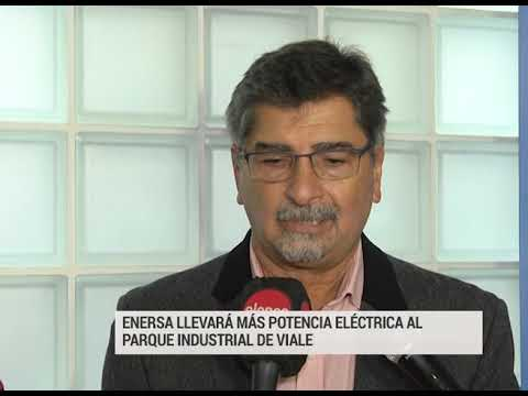 ENERSA llevará más potencia al Parque Industrial de Viale