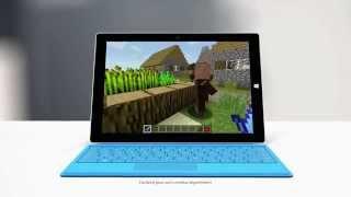 Vidéo : Publicité Microsoft Surface 3