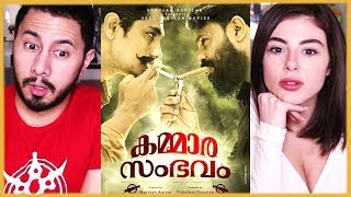 KAMMARA SAMBHAVAM | Dileep | Rathish Ambat | Trailer Reaction!