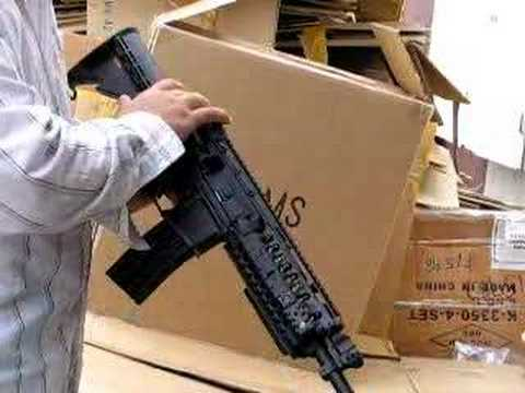 A&K 7799 M4 FULL METAL SHELL CARBINE M16 GEAR AIRSOFT RIFLE