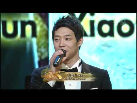 110831 YooChun at Seoul International Drama Award 2011