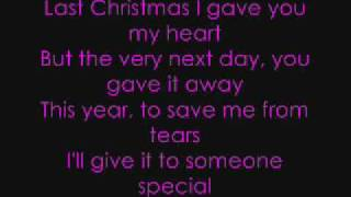 last christmas lyrics taylor swift