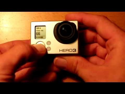Howto hard reset GoPro Hero 3 and 3+ cameras