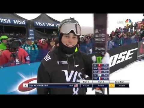 Gus Kenworthy Wins Visa U.S. Freeskiing Grand Prix Halfpipe - Park City