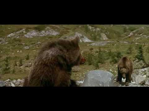 L-Ours (1988) - the cougar scene
