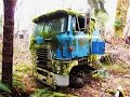 Parked Cabover Trucks