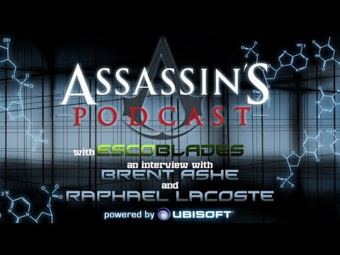 The Official Assassin-s Podcast - Interview with Brent Ashe and Raphael Lacoste (Prologue episode)