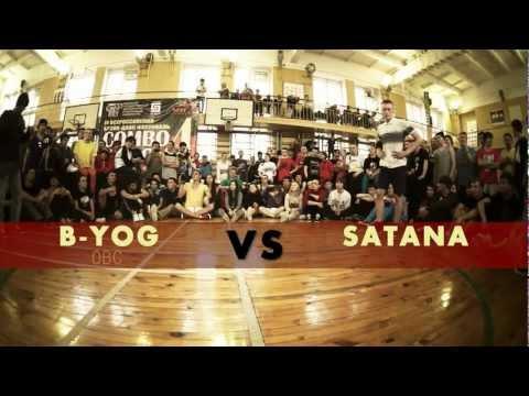 B-Yog vs Satana | TRICKS ROUND 2 | COMBOnation