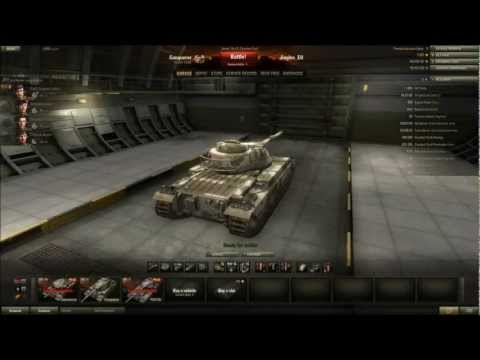 World of Tanks - Patch 8.1 Preview - Conqueror Tier 9 British Heavy Tank