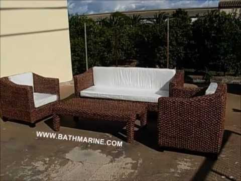 Bathmarine es muebles rattan natural y sintetico mimbre for Sofas baratos alicante
