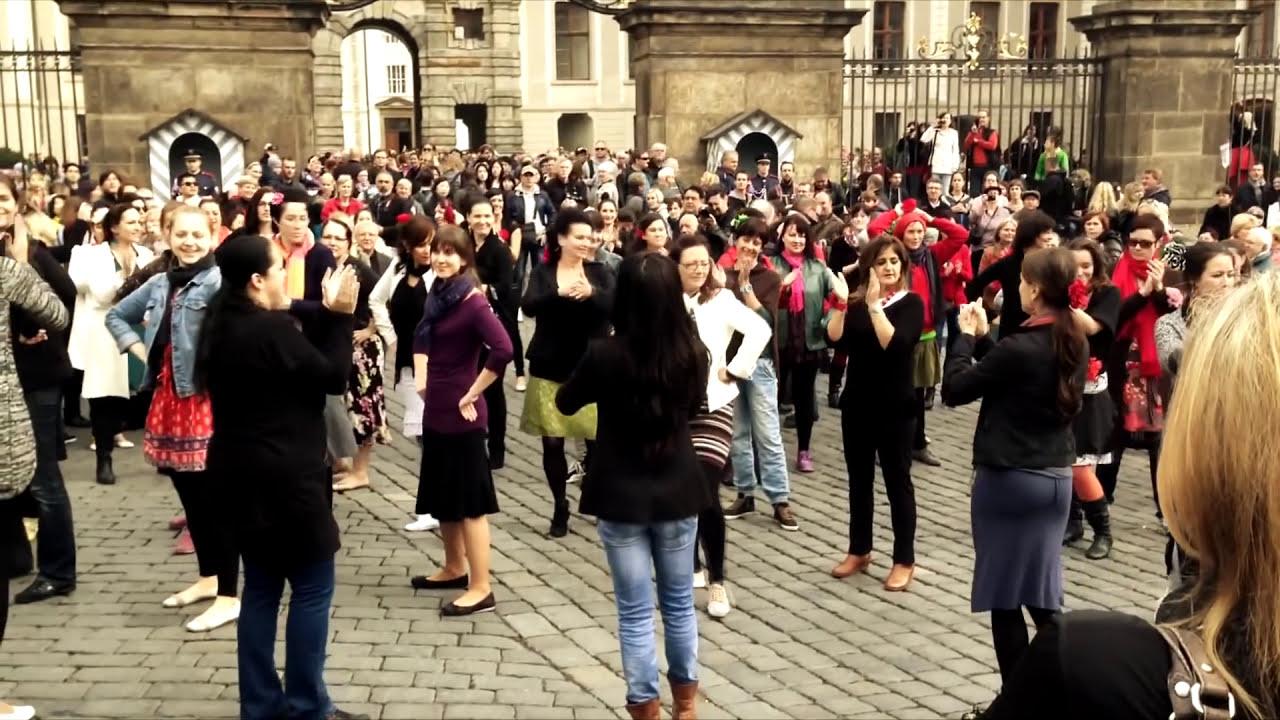 Flamenco Flashmob Praga 2014 (oficial)