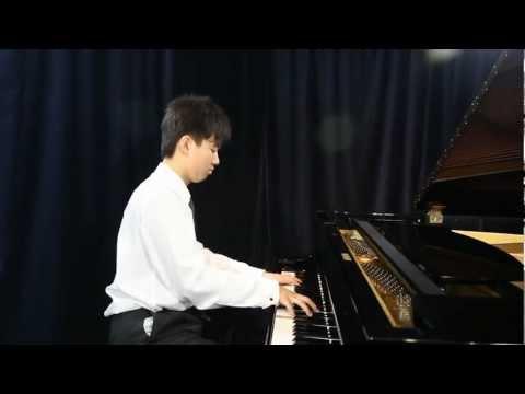 Eric Liu at 14, Chopin Etude Op. 10 No. 12 C minor Revolutionary
