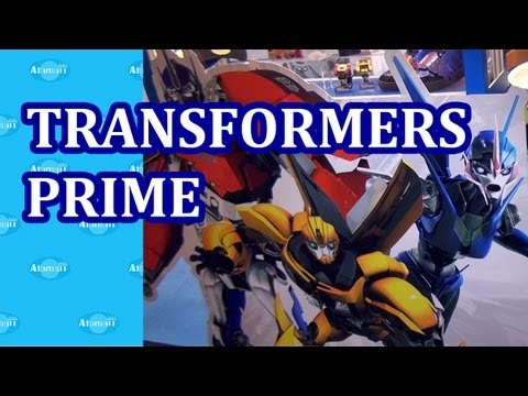 Transformers Prime Toys and Accessories Hong  Kong Licensing Show
