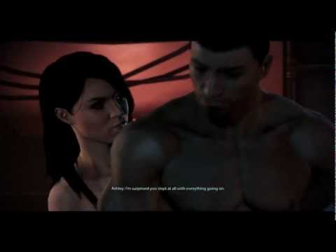 Mass Effect 3 - Ashley Romance [HD]