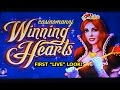 NEW SLOT! Winning Hearts - First