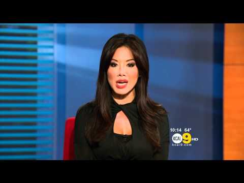 Sharon Tay 2011/09/23 10PM KCAL9 HD; Black top