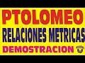 EL TEOREMA DE PTOLOMEO EN LOS CUADRILATEROS DEMOSTRACION