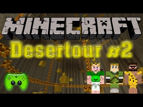 Let's Play Minecraft Adventure-Map [Deutsch/HD] - Desertour #2