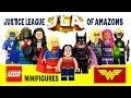 LEGO JLA: Justice League of Amazons MOC Team-Up Minifigures w/ Wonder Woman Supergirl & Batgirl