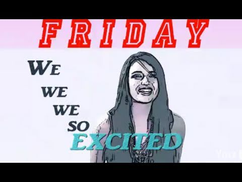 "Rebecca Black's ""Friday"" REMOVED!!!"
