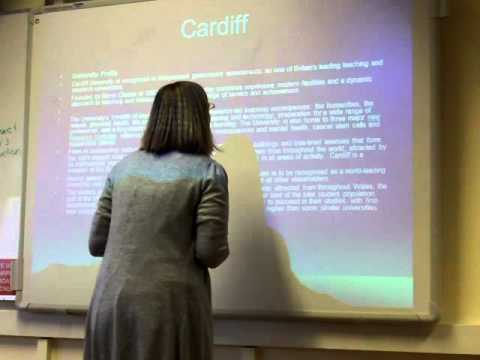 SE live presentation Wales university bad example