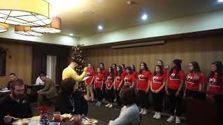 A Christmas Time Performance by Brown Middle School Choir