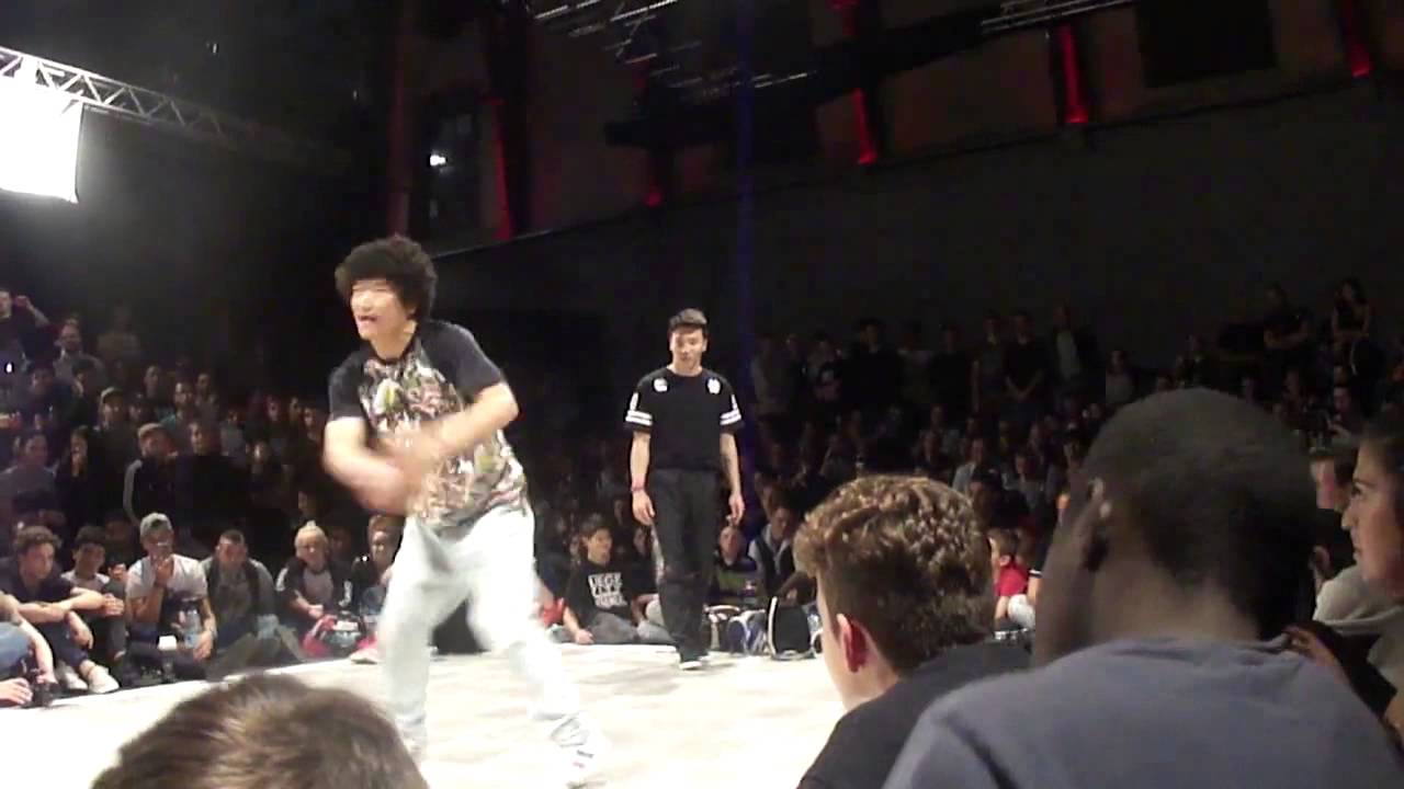 Bboy The End and  Noodle (Gamblerz)  vs  Kid Colombia and Cri6 LCB Battle 2014   [Pi]
