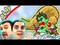 БолтушкА и ПРоХоДиМеЦ Защищают БАШНЮ от Мощного ВЕТРА! #105 Игра для Детей - Tower Conquest