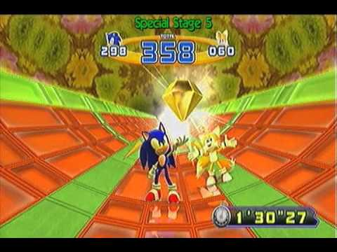 Sonic the Hedgehog 4: Episode 2 - Extra: Chaos Emeralds and Super Sonic